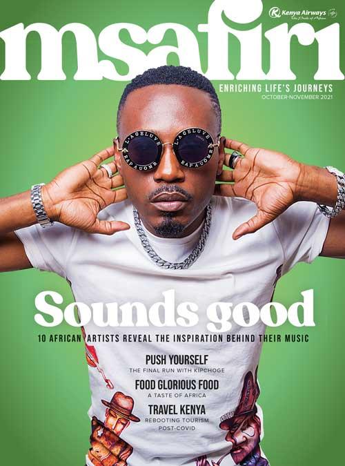 Msafiri Issue 169 Cover (Gecko Publishing)
